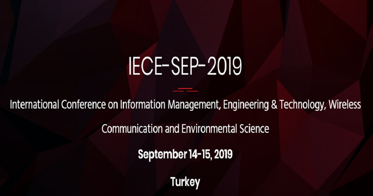 International Conference on Information Management, Engineering & Technology, Wireless Communication and Environmental Science