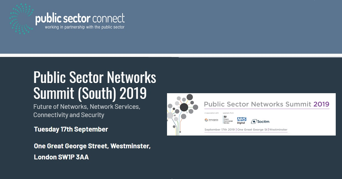 Public Sector Networks Summit (South) 2019