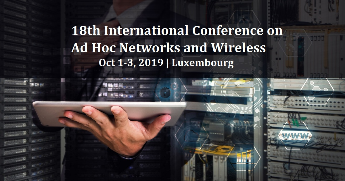 18th International Conference on Ad Hoc Networks and Wireless
