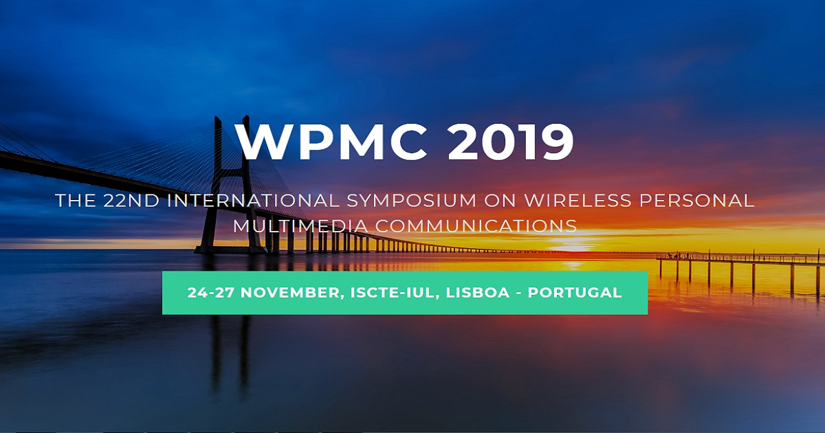 The 22nd International Symposium on Wireless Personal Multimedia Communications (WPMC - 2019)