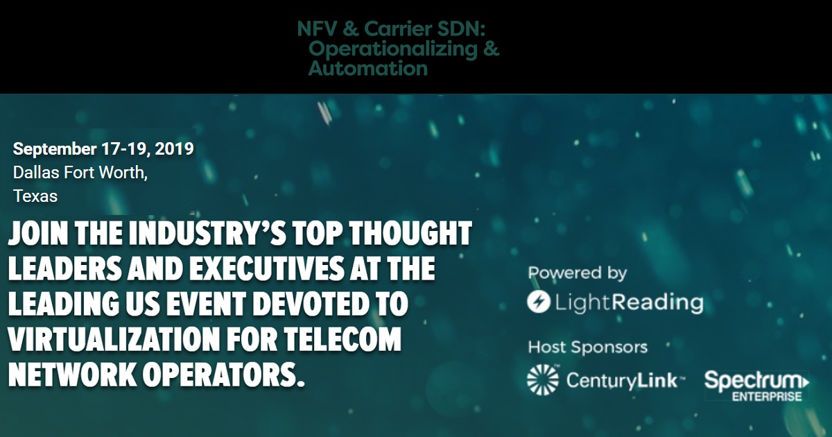 NFV AND CARRIER SDN: Operationalizing AND AUTOMATION