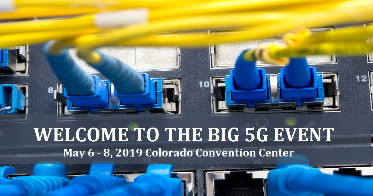 WELCOME TO THE BIG 5G EVENT