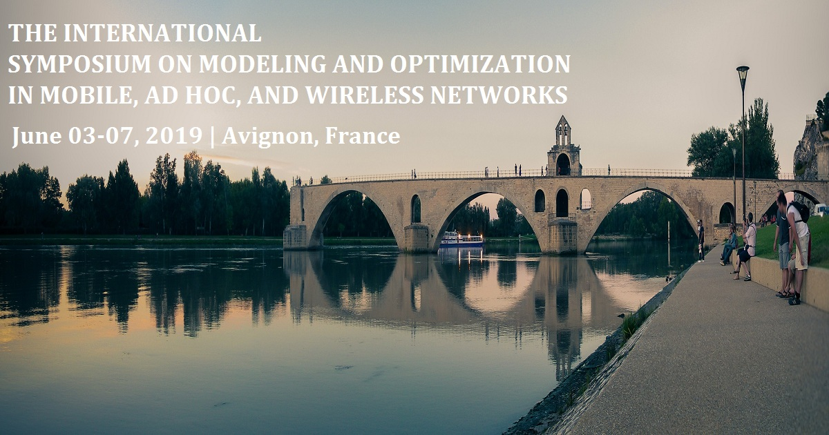 The International Symposium on Modeling and Optimization in Mobile, Ad Hoc, and Wireless Networks