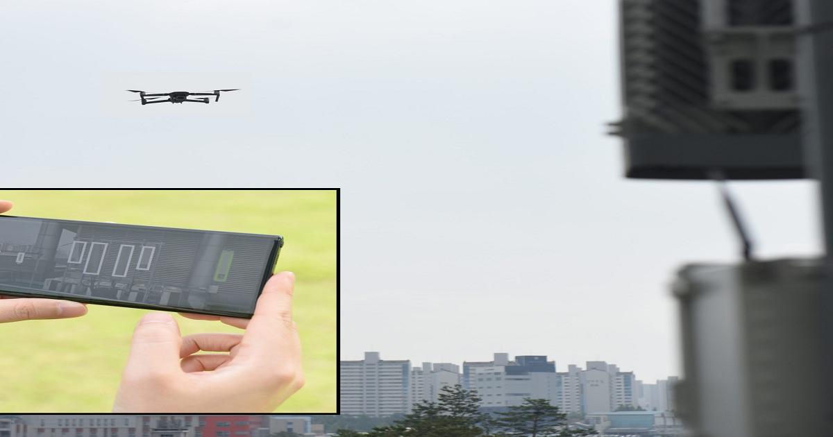 Samsung demos drone solution for 4G, 5G network optimization