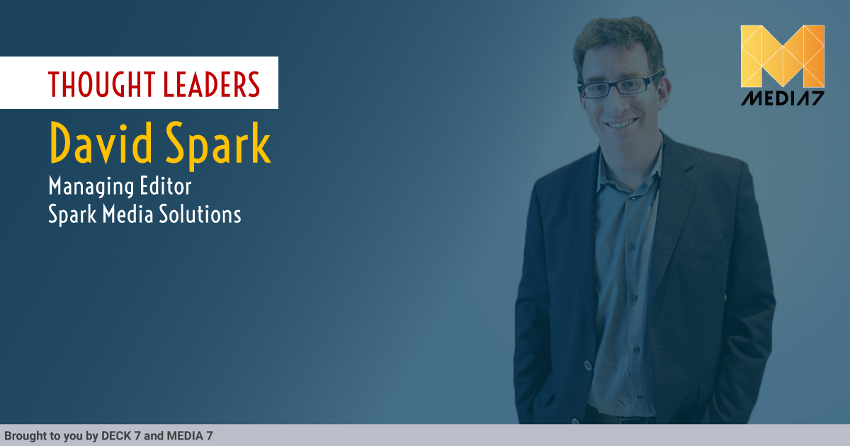 Q&A with David Spark, Content Marketer and Producer, Managing Editor at Spark Media Solutions