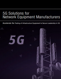 5G SOLUTIONS FOR NETWORK EQUIPMENT MANUFACTURERS